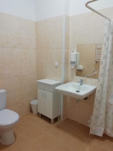 Dom opieki wpobliżu warszawy łazienka