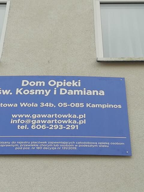 Dom Opieki blisko Warszawy