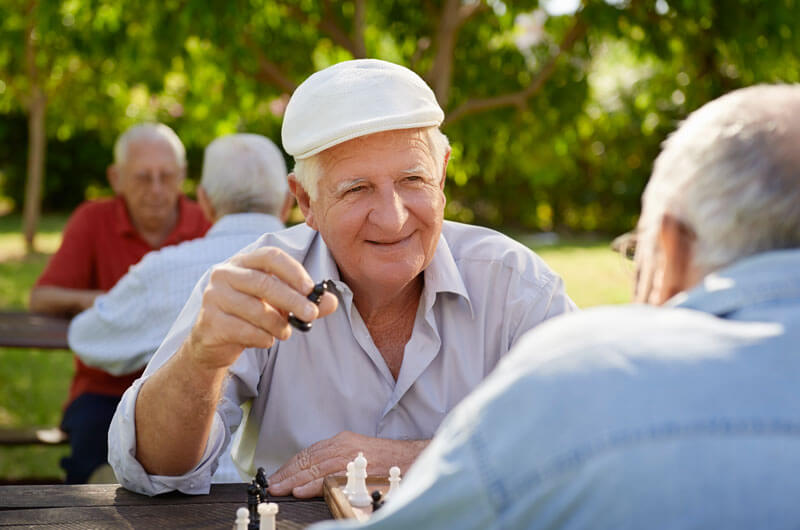 Pobyt czasowy dla seniorów